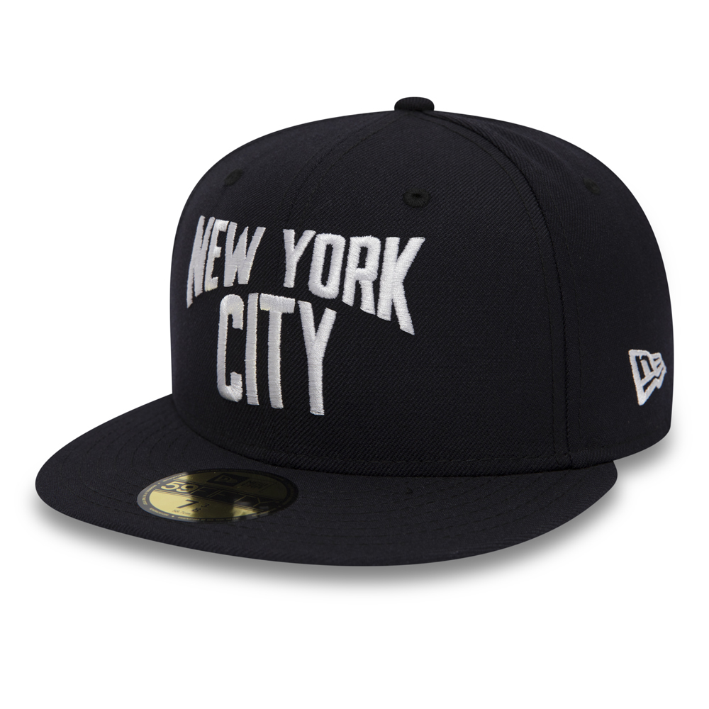 New York City Wordmark 59FIFTY blu navy