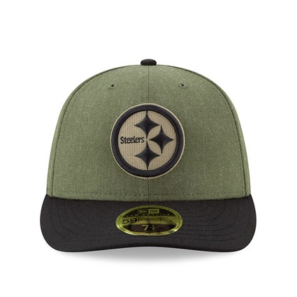 53a17bf1 Pittsburgh Steelers Salute to Service Low Profile 59FIFTY | New Era