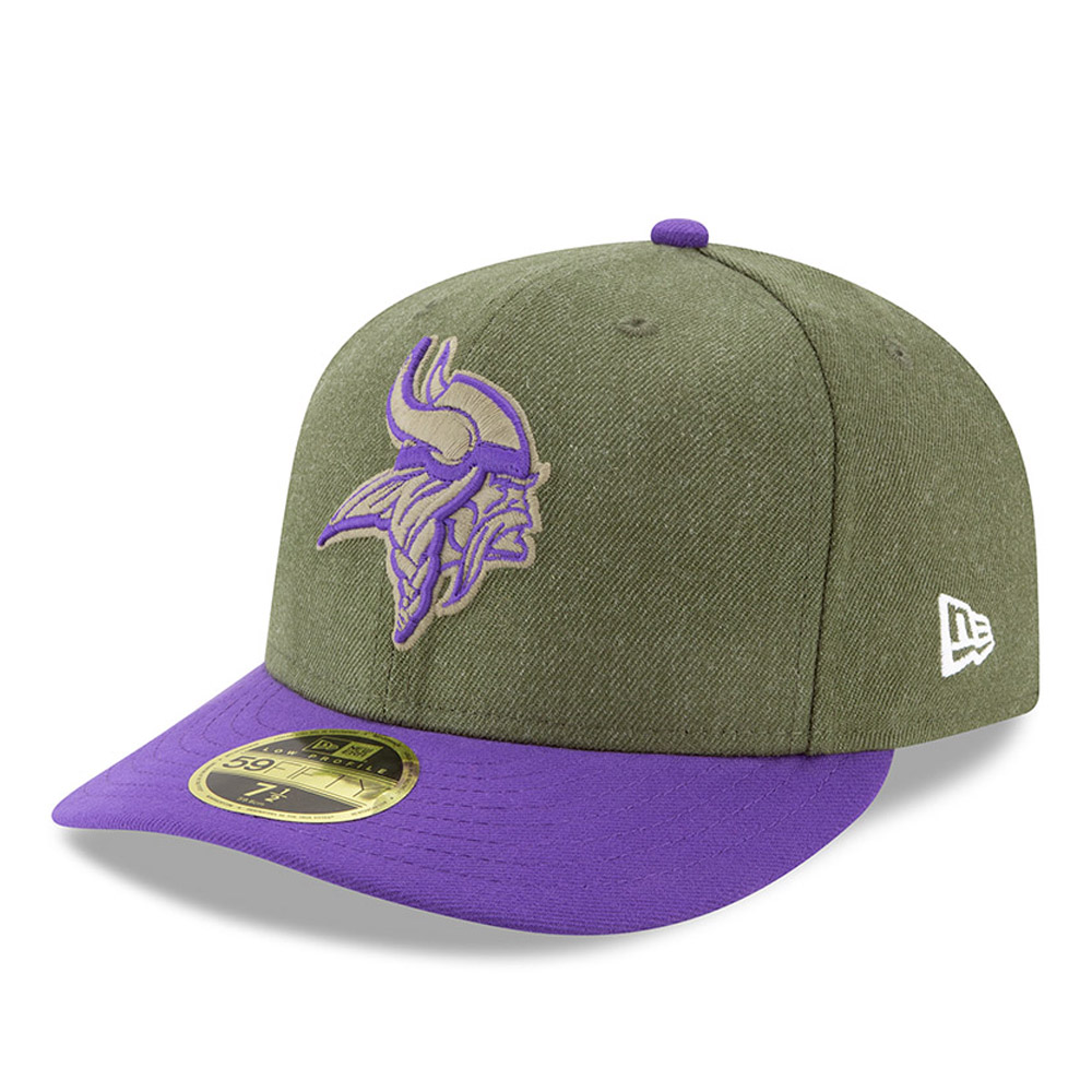 Minnesota Vikings Salute to Service Low Profile 59FIFTY