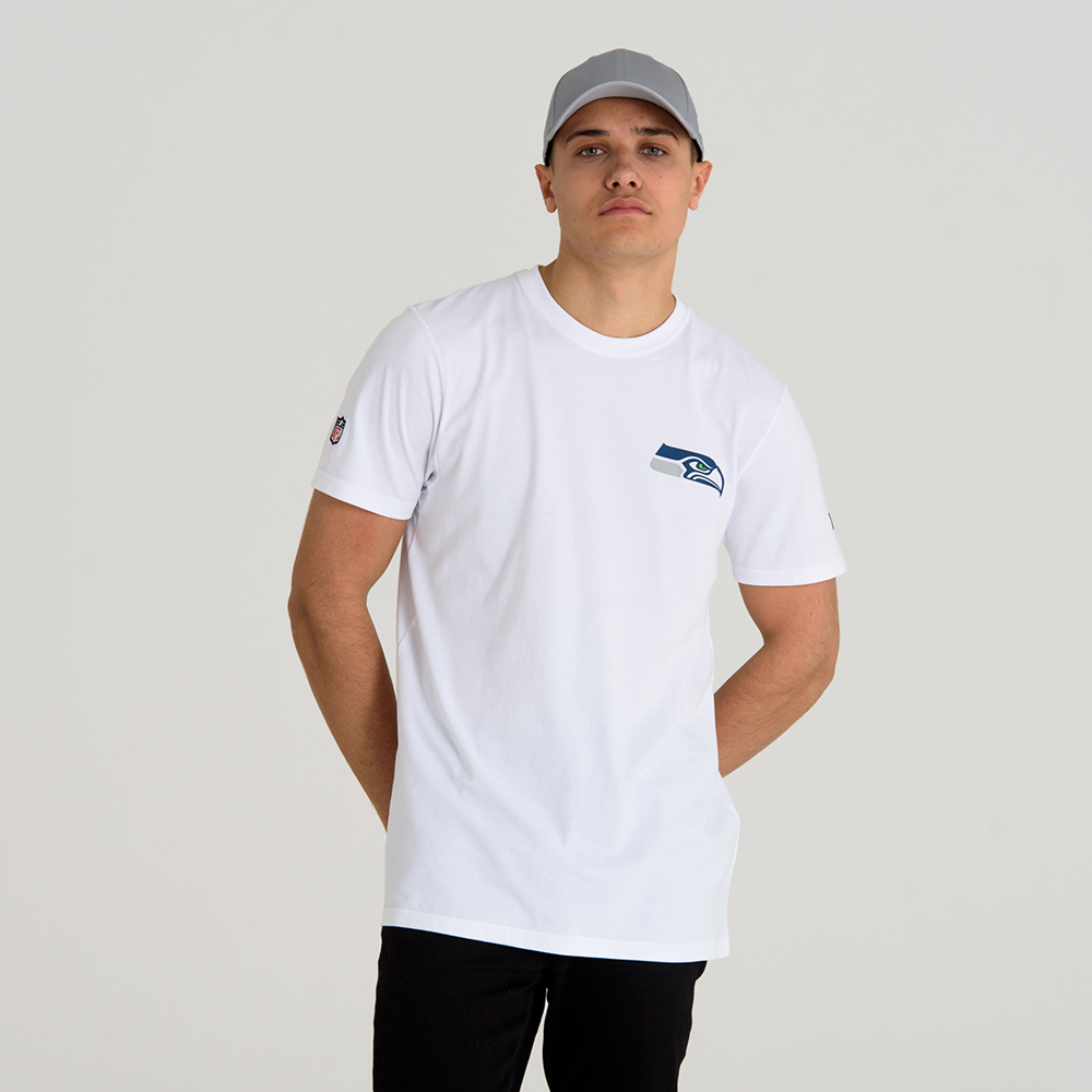 Seattle Seahawks Team White Tee