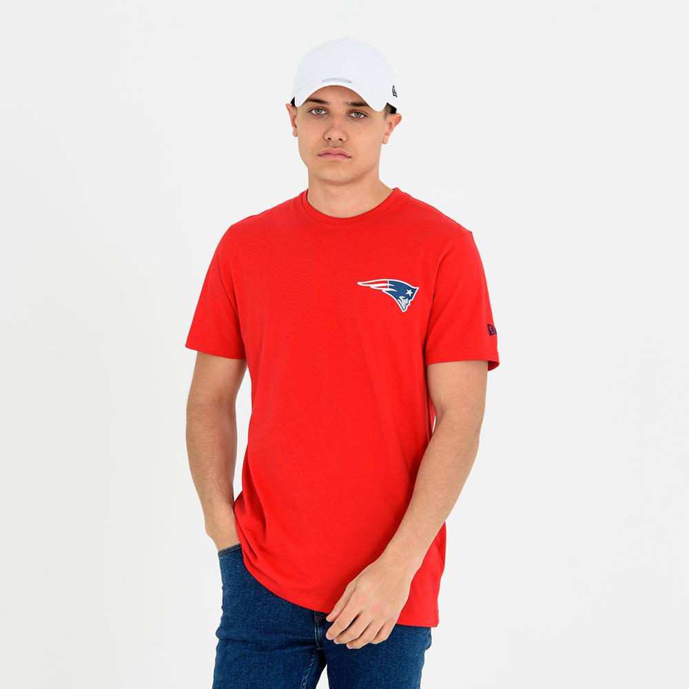 T-shirt New England Patriots Team rouge