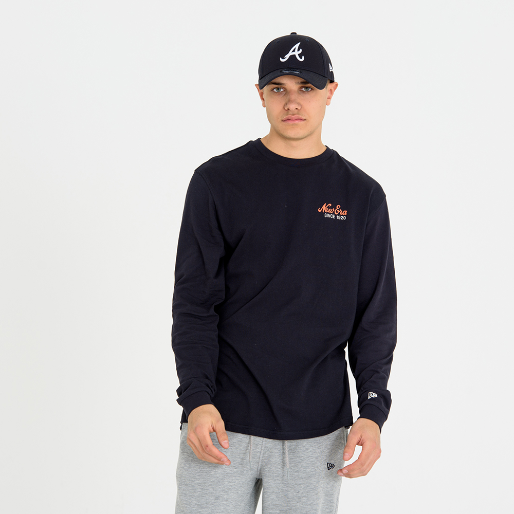 New Era – Longsleeve – Marineblau