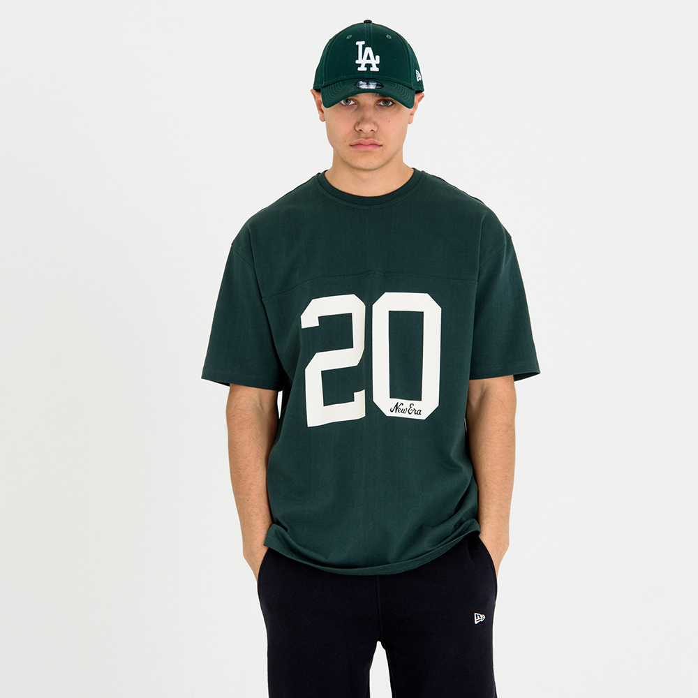 New Era Green Jersey Tee