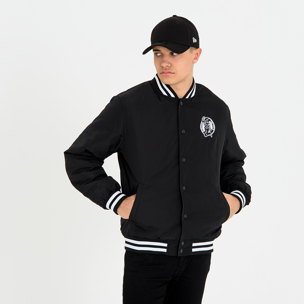 Boston Celtics Monochromatic Varsity Jacket