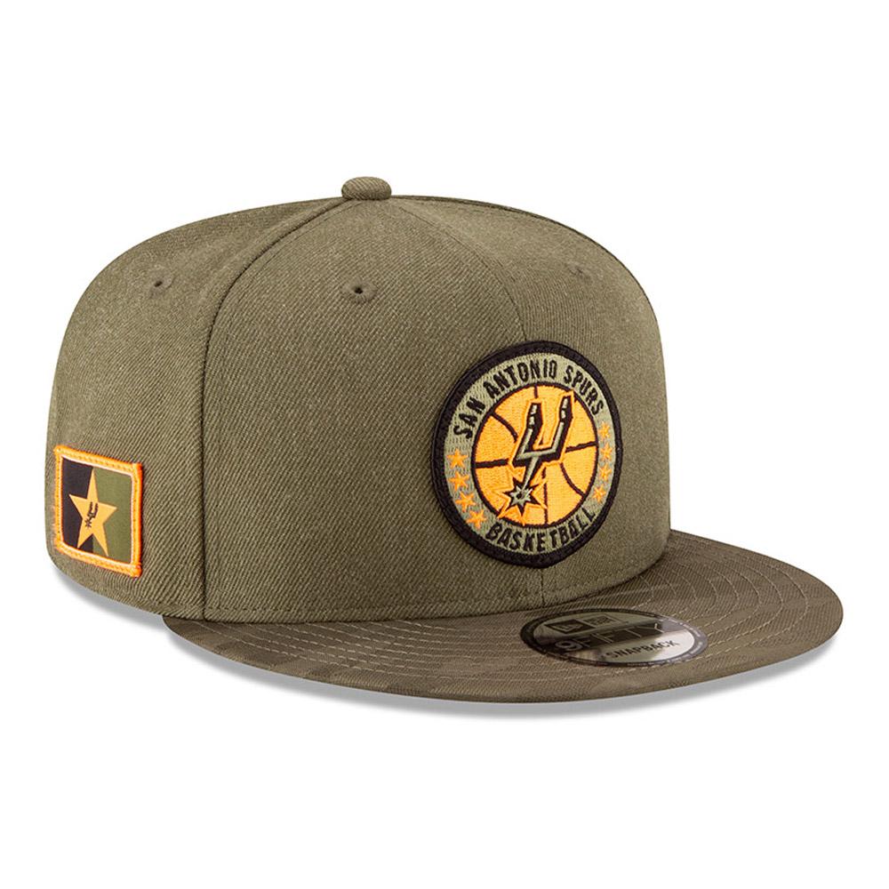 San Antonio Spurs de la collection NBA Authentics - Séries Tip Off casquette avec languette de réglage crantée 9FIFTY