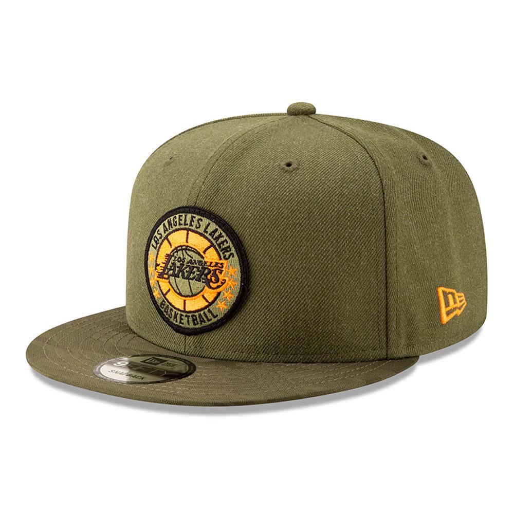 Los Angeles Lakers de la collection NBA Authentics - Séries Tip Off casquette avec languette de réglage crantée 9FIFTY