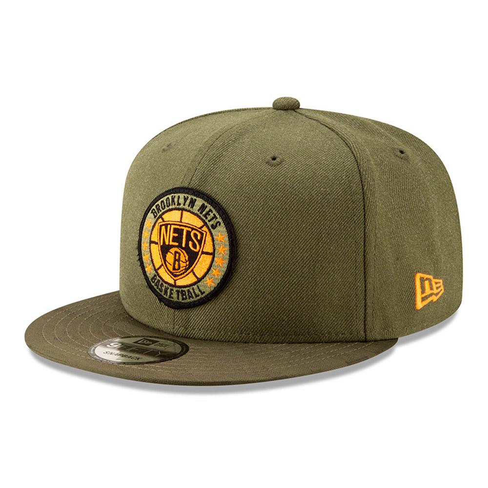 Brooklyn Nets de la collection NBA Authentics - Séries Tip Off casquette avec languette de réglage crantée 9FIFTY