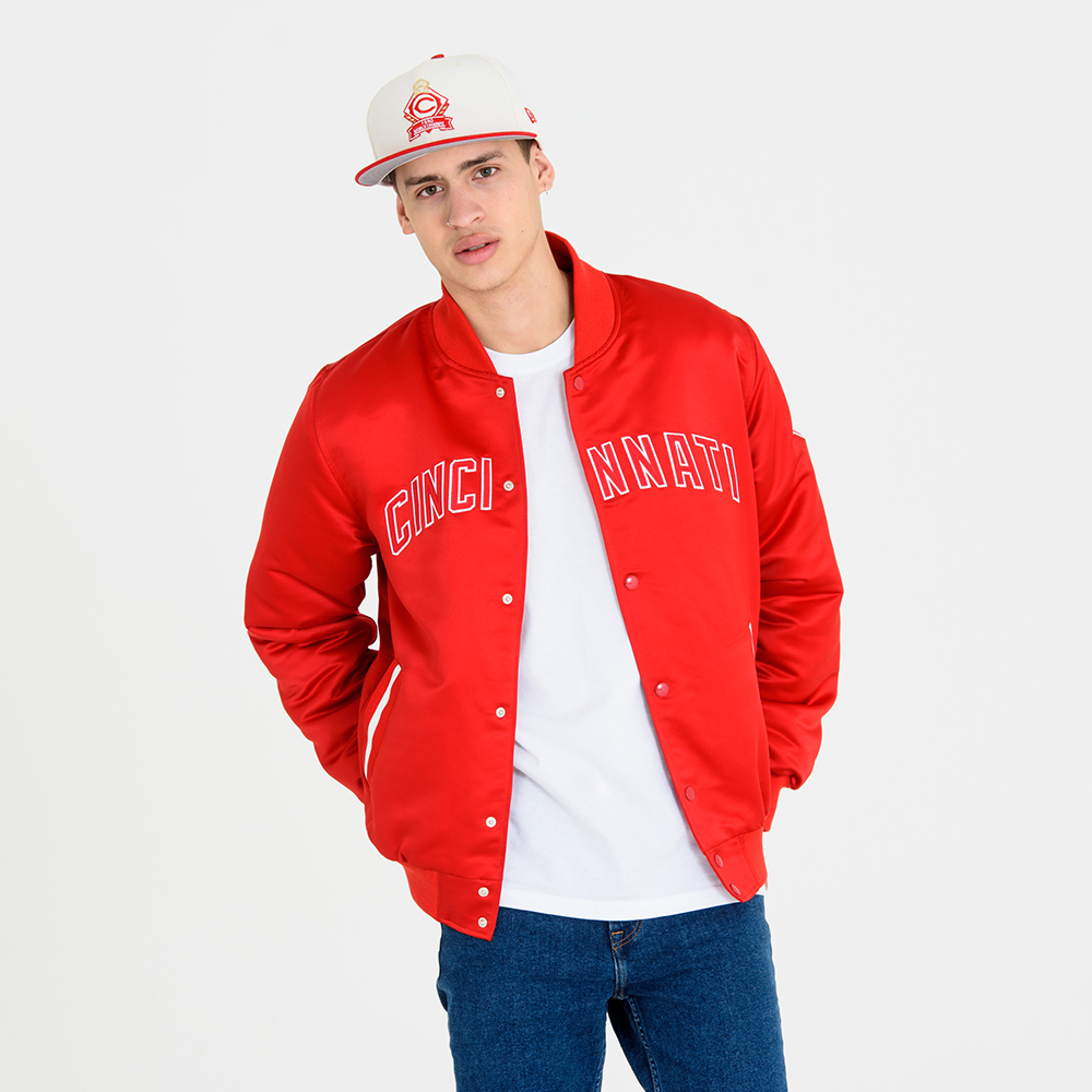 Cincinnati Reds 1990 World Series – Varsity-Jacke