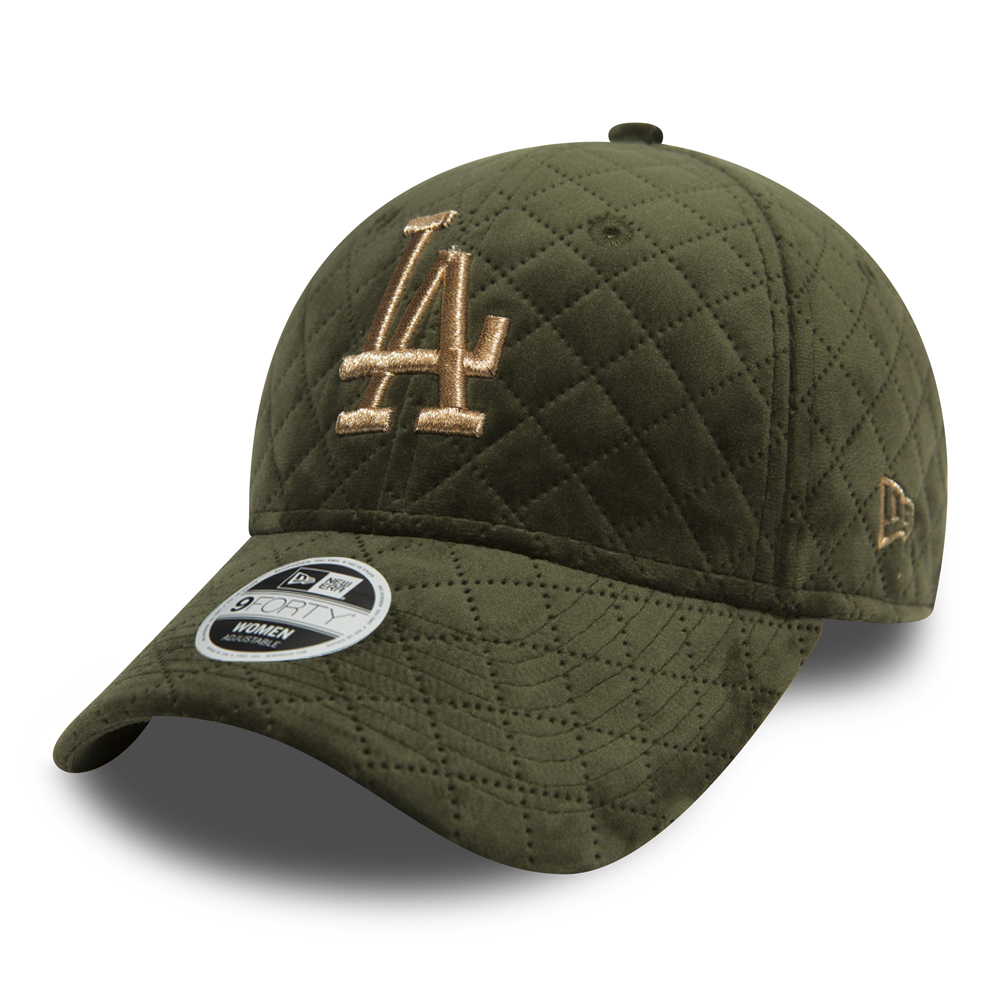 Los Angeles Dodgers Winter Pack 9FORTY mujer, oliva