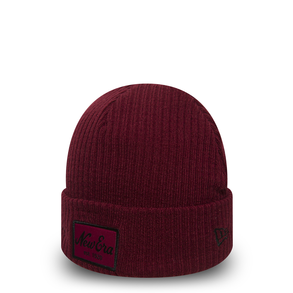 Gorro de punto con vuelta New Era Script Winter Utility 06cd44bbf18