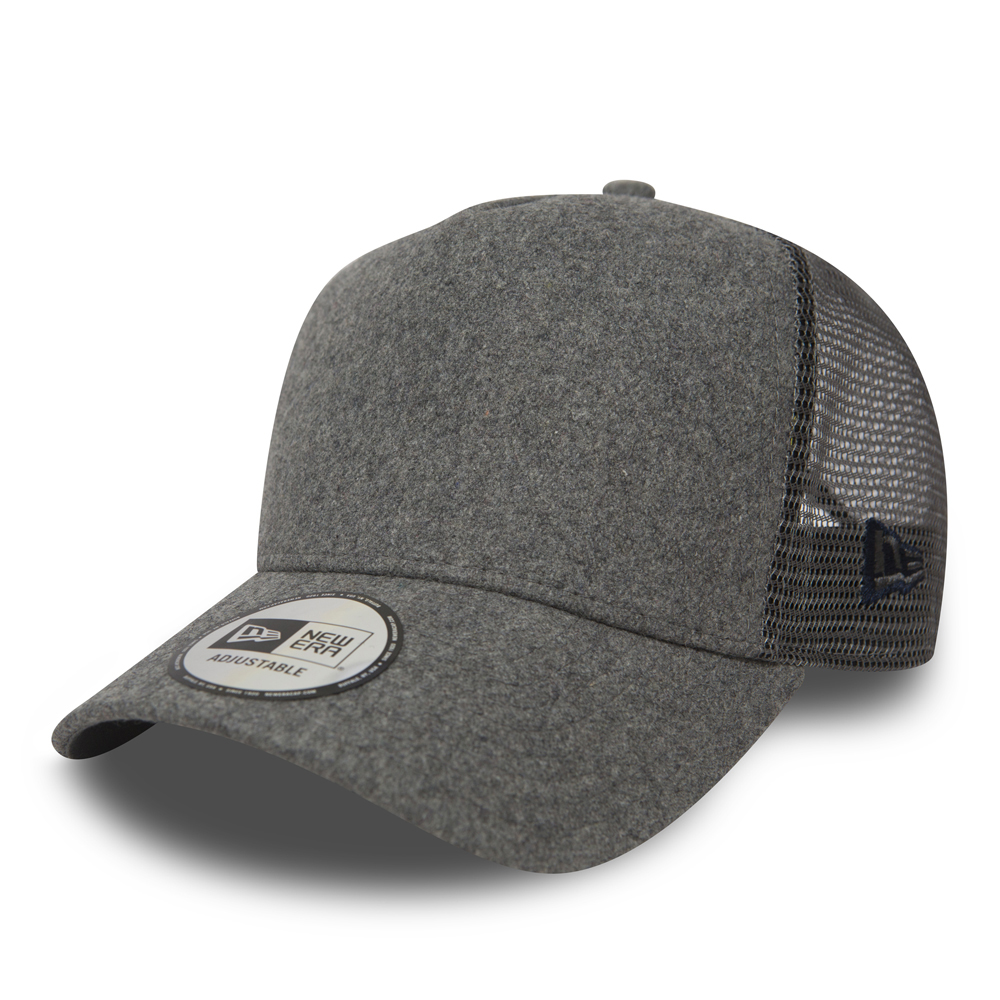 New Era Winter Utility Grey A Frame Trucker