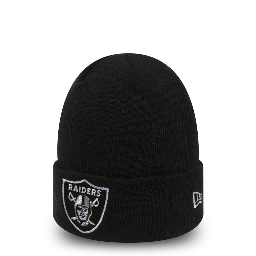 f75331e4ec2df3 Oakland Raiders Team Essential Cuff Knit | New Era