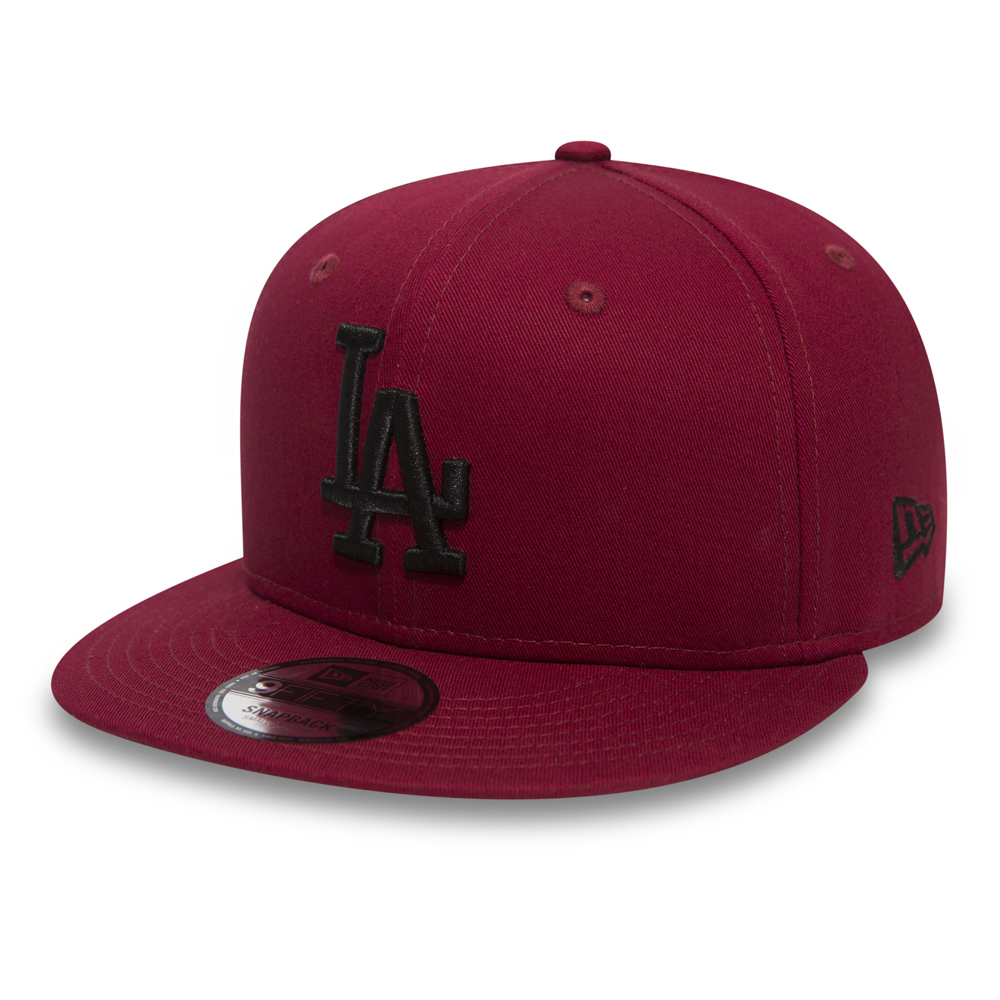 Los Angeles Dodgers Essential 9FIFTY Snapback, rojo cardinal