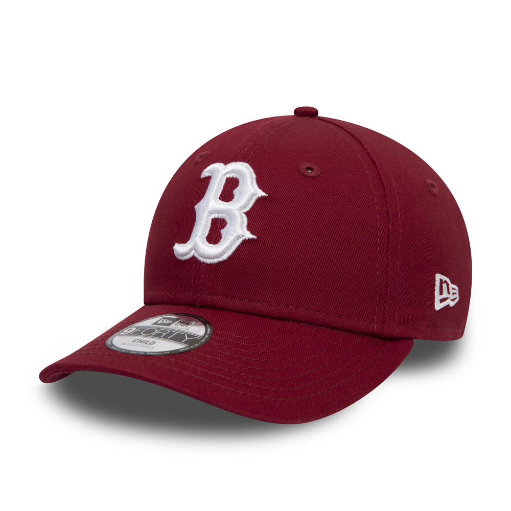 Boston Red Sox Essential 9FORTY enfant rouge