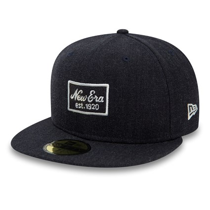 8c8c1763fab New Era Heather Script Navy 59FIFTY