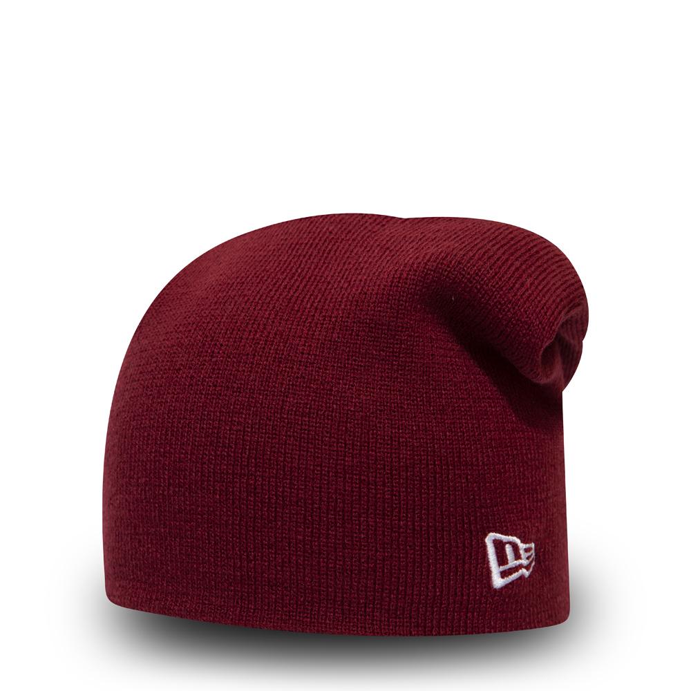 Berretto di maglia lungo New Era Essential rosso  8fafc1f8449d