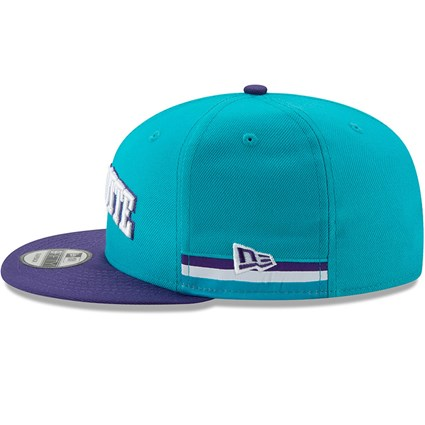 Charlotte Hornets NBA Authentics - Hardwood Series 9FIFTY Snapback