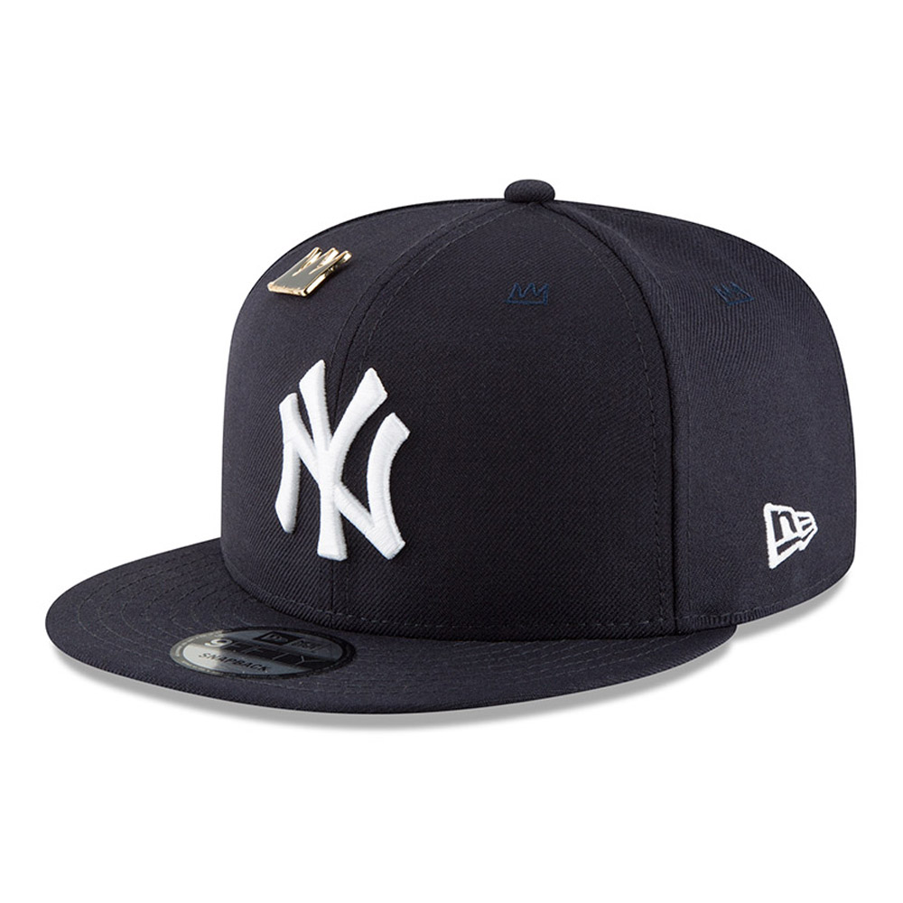 Basquiat Crown New York Yankees 9FIFTY Snapback