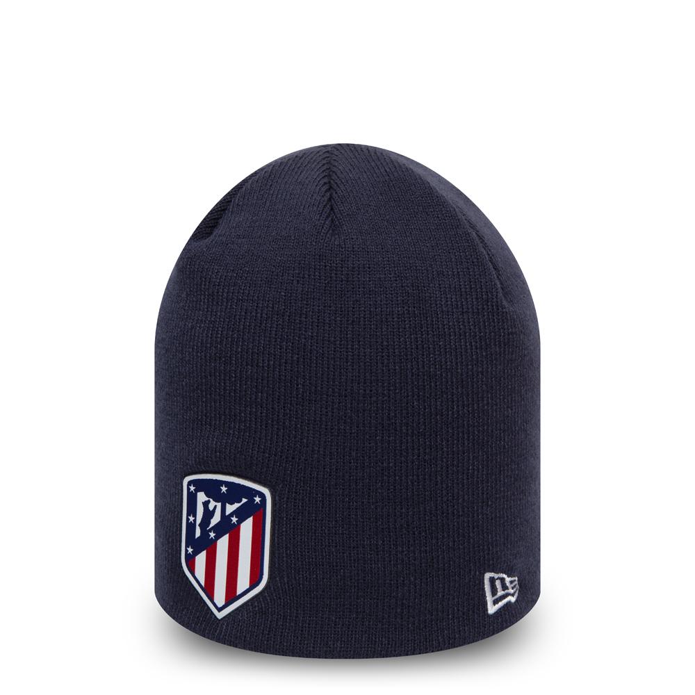 5af67939d3b1c Gorro de punto ceñido a la cabeza Atlético Madrid Logo