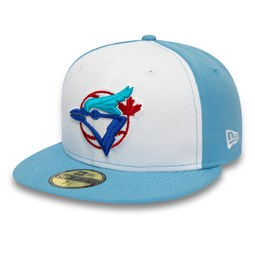 Toronto Blue Jays White 59FIFTY Cap