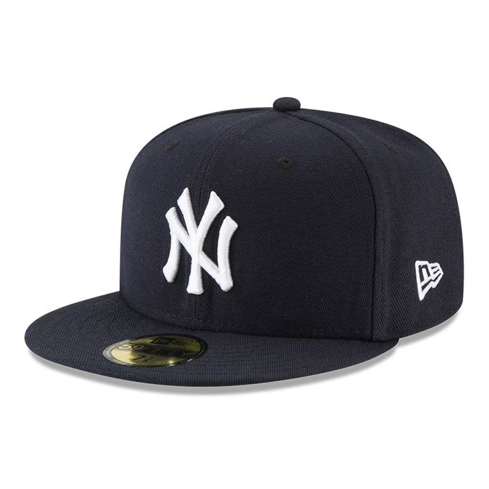 Cappellino 59FIFTY On Field Game dei New York Yankees blu navy