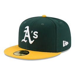 Casquette 59FIFTY On Field Home Oakland Athletics, vert