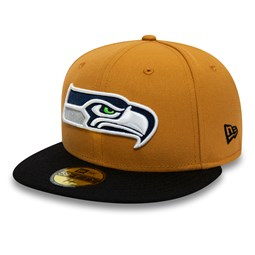 Seattle Seahawks 59FIFTY, tan