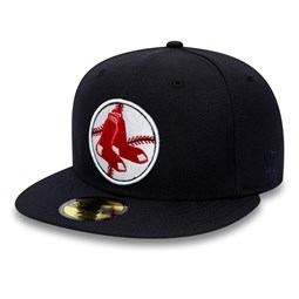 Casquette 59FIFTY des Boston Red Sox bleu marine
