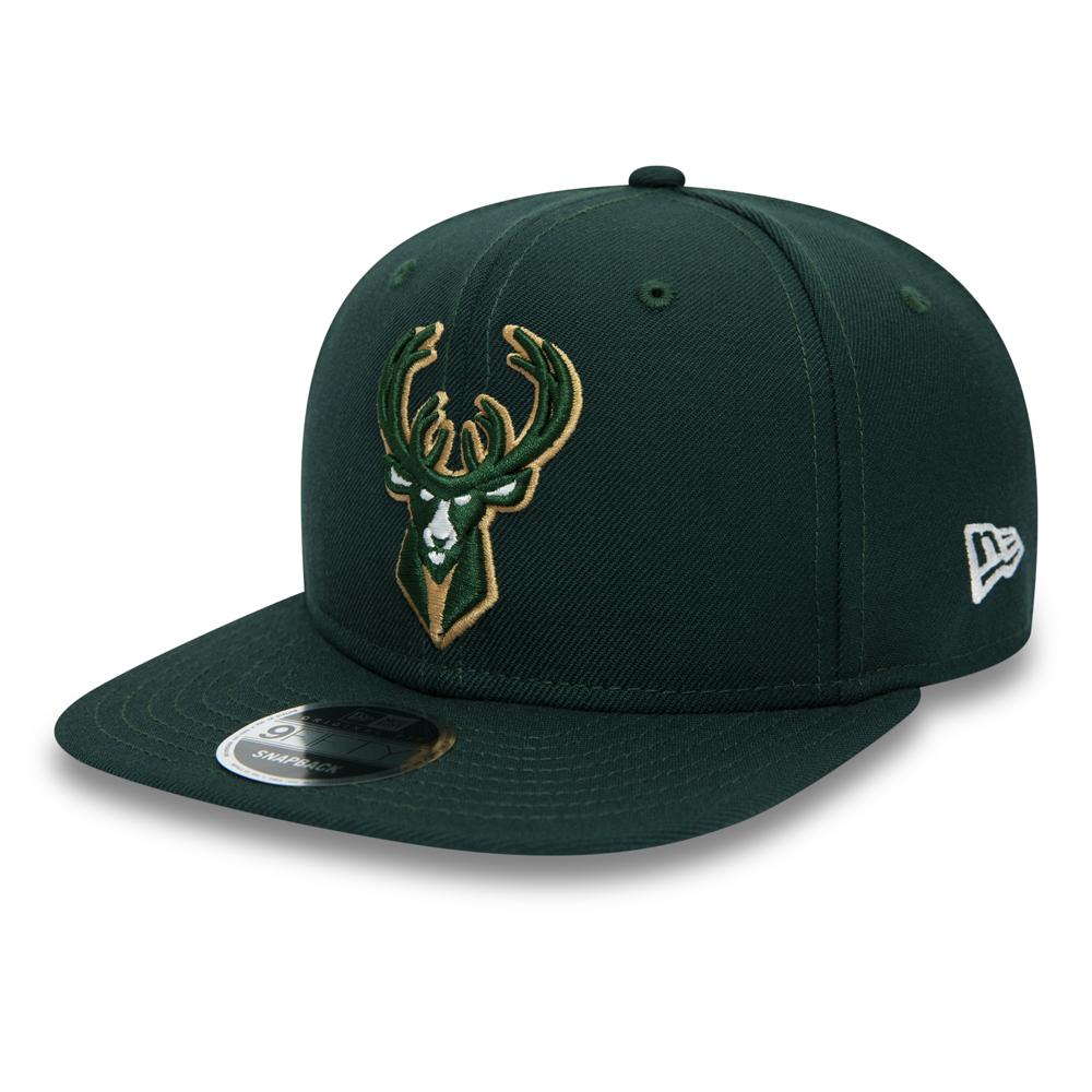 9FIFTY – Milwaukee Bucks – Original Fit-Kappe mit Clipverschluss