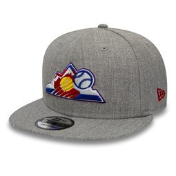 GorraColorado Rockies 9FIFTY, gris