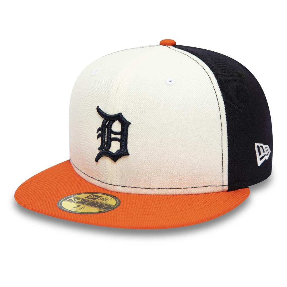 Casquette 59FIFTY blanche des Tigers de Détroit