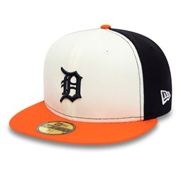 Gorra Detroit Tigers White 59FIFTY, blanco