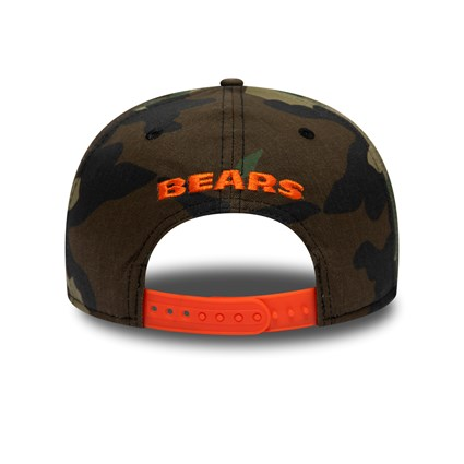 Chicago Bears Camo 9FIFTY Snapback