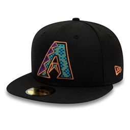 Gorra Arizona Diamondbacks 59FIFTY, negro