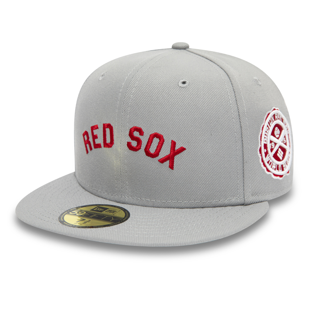 Casquette 59FIFTY des Boston Red Sox gris