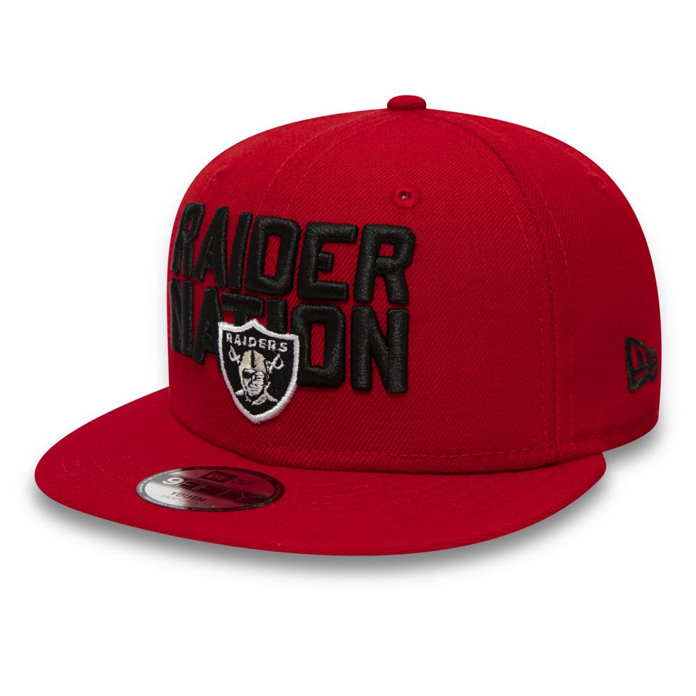 Oakland Raiders 9FIFTY casquette enfant avec languette de réglage crantée