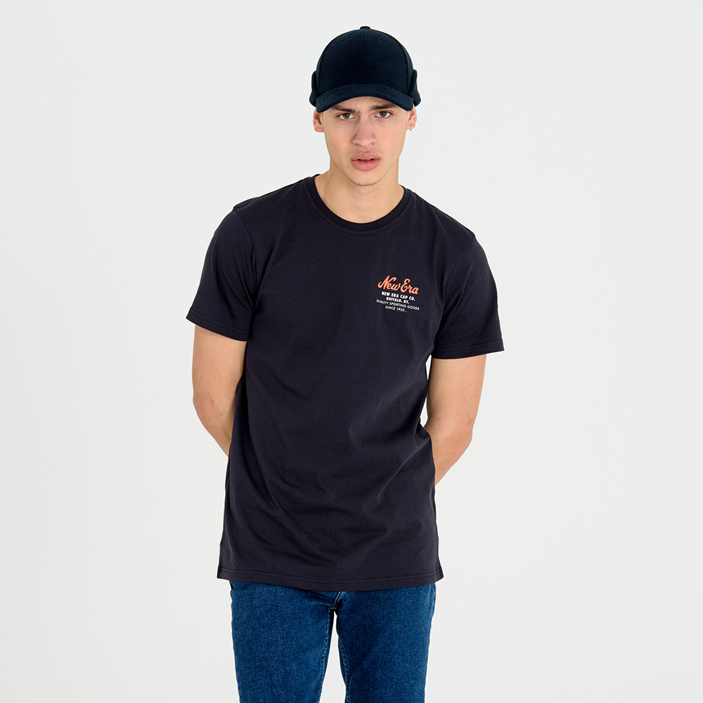 New Era Cap Co. Navy Tee