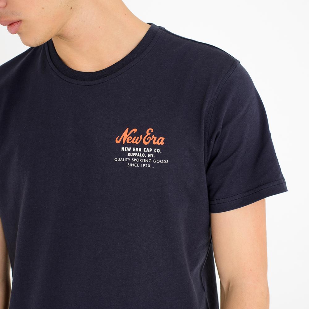 T-shirt New Era Cap Co. blu navy