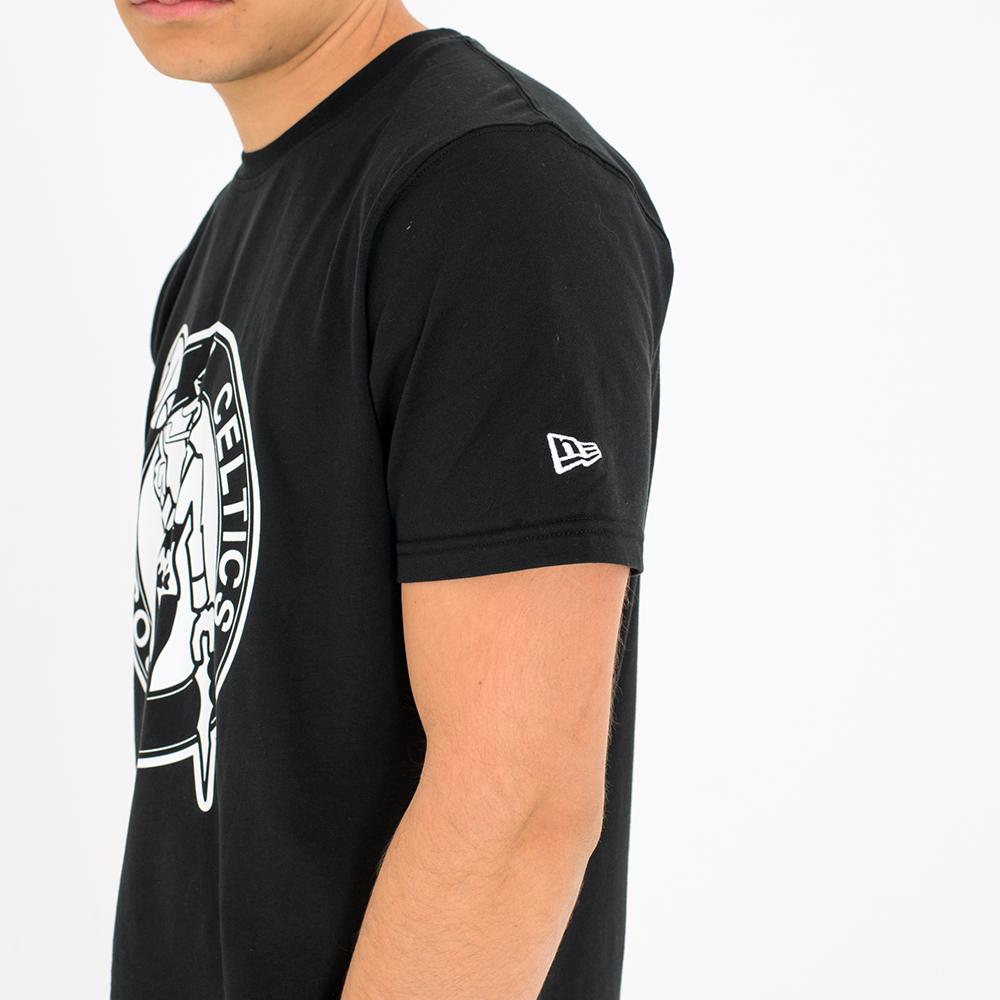 T-shirt Boston Celtics monocromatica  e8a12a027da2
