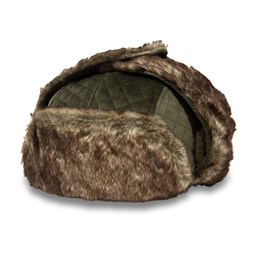 New Era Womens Winter Pack Olive Trapper