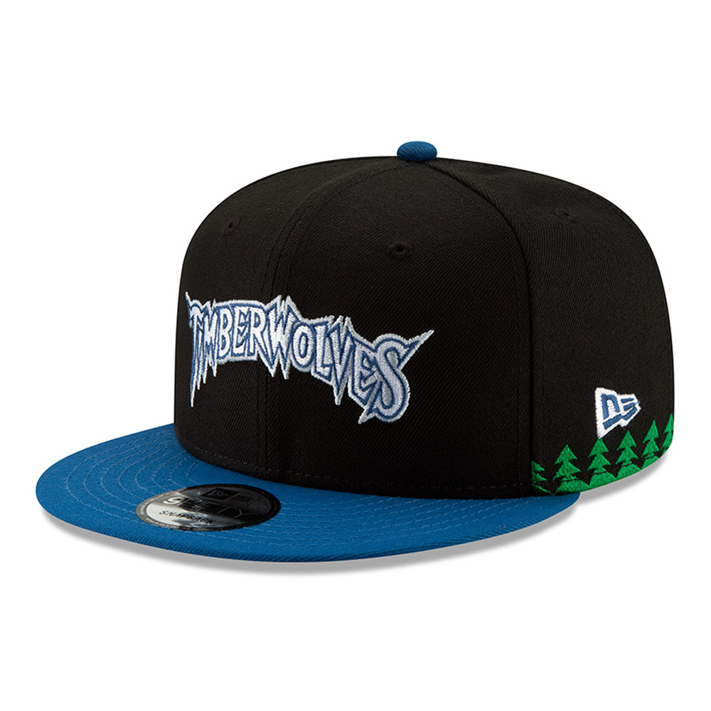Minnesota Timberwolves NBA Authentics - Hardwood Series 9FIFTY Snapback