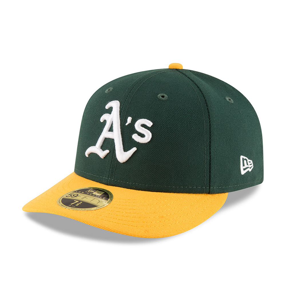 59FIFTY – Oakland Athletics –  Authentic-Kollektion – Low Profile