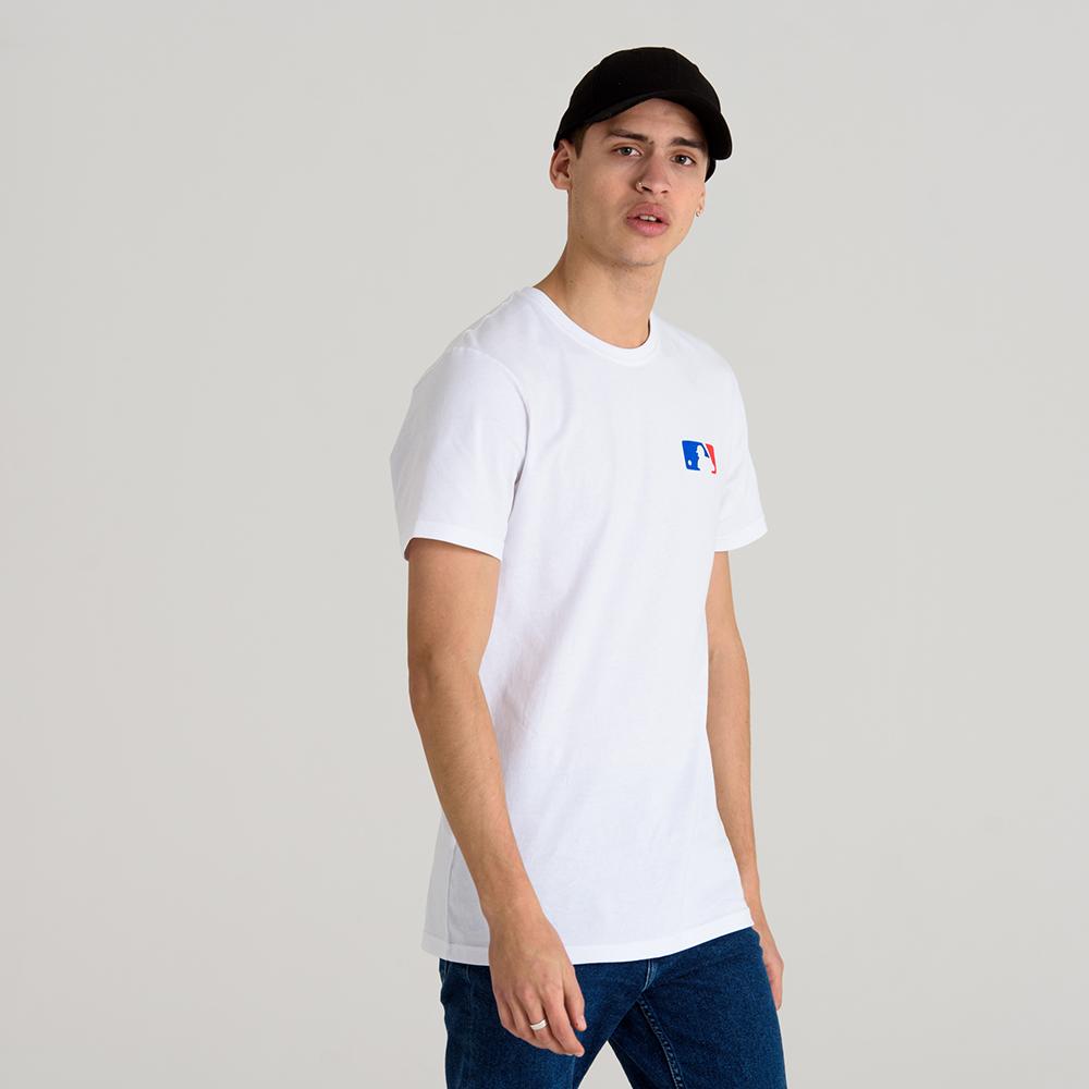 T-shirt MLB Logo Team Ball bianca