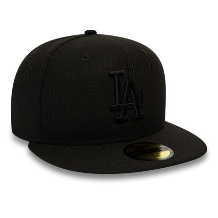 Los Angeles Dodgers Diamond Era Black 59FIFTY Cap