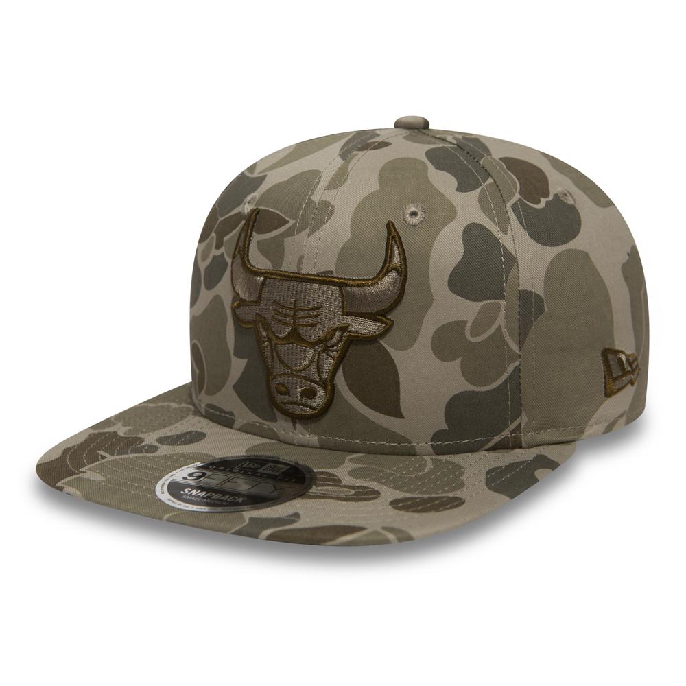Chicago Bulls Camo 9FIFTY Snapback 0d60c2269534