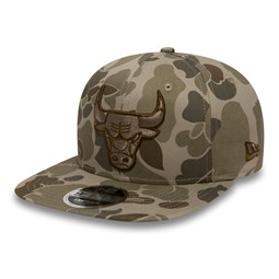Chicago Bulls 9FIFTY Snapback, camo