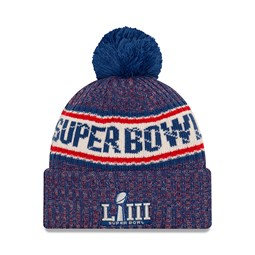 12435e64202 Super Bowl LIII Bobble Cuff Knit