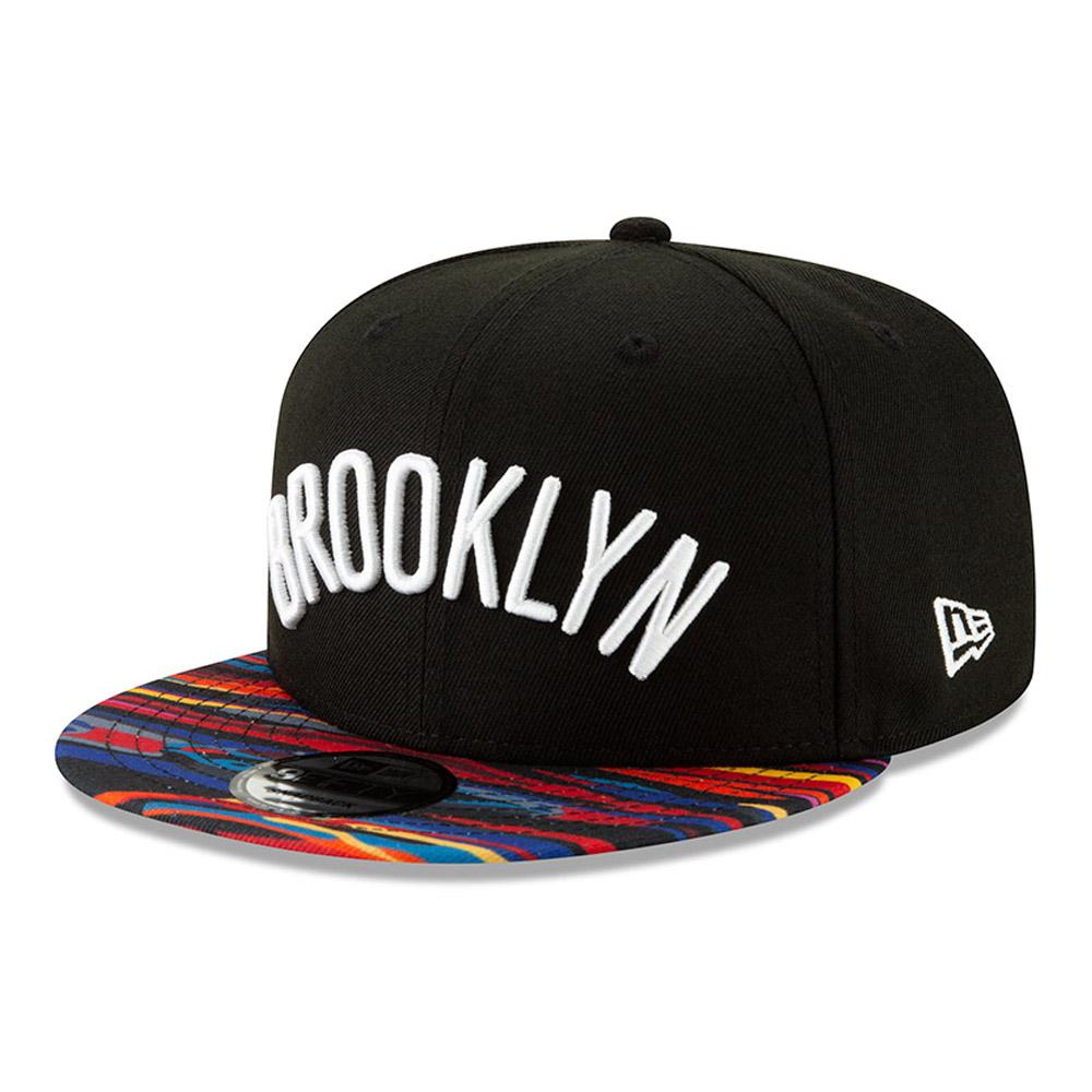 brand new b5753 a5ef7 Brooklyn Nets NBA Authentics - City Series 9FIFTY Snapback