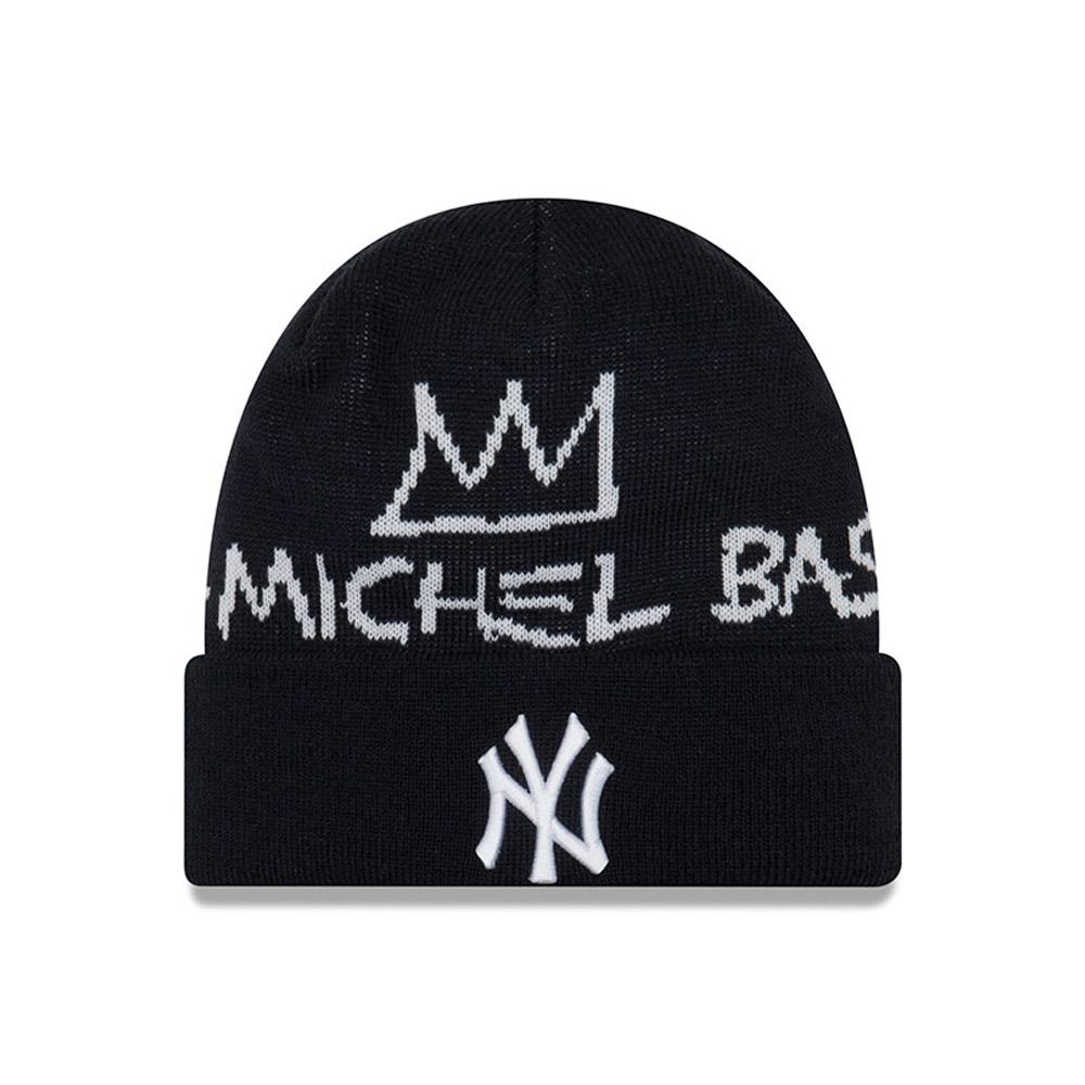 Gorro de punto con vuelta Basquiat Signature New York Yankees b027cc59e6c