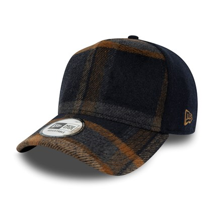 New Era Plaid A Frame Trucker